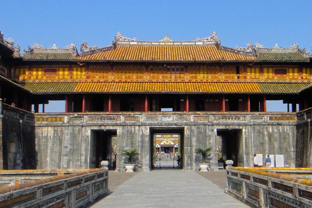 Hue Vietnám császárváros citadella főkapu