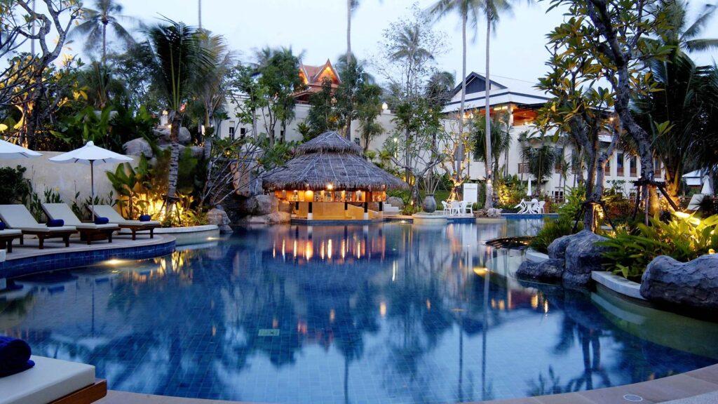 Phuket különleges szálláshelyek, nyaraló szállodák, üdülők.