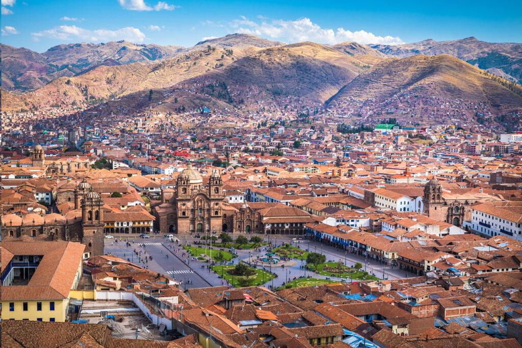 Cusco, Peru legizgalmasabb városa az Andok hegyei közt. Inka Kecsua emlékekkel
