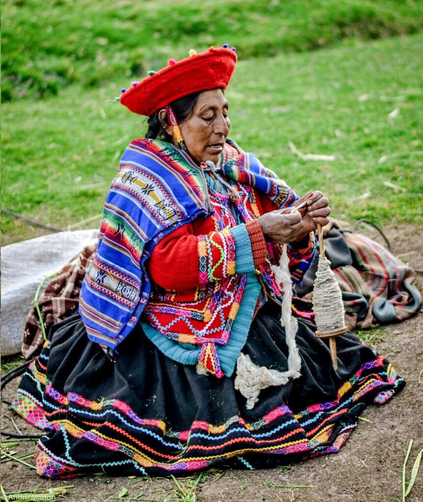 Cusco vidékének Kecsua őslakói az Inka birodalom népe.